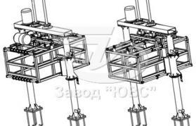Резательный комплекс для пенобетонных блоков