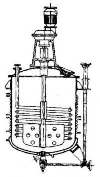 Реакторы для производства лаков и красок