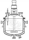 Реакторы с пропеллерными или турбинными мешалками, нижними спусками продукта и съемными крышками