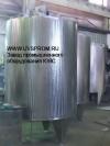 Резервуар вертикальный со змеевиком охлаждения РВО-2.5-2Т.К.3 3.Р ПС