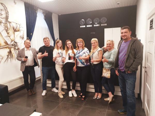 Бизнес миссия Санкт Петербург Завод ЮВС