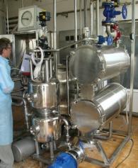 Пастеризационно охладительная установка ЮВС