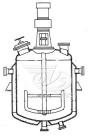 Реакторы с рамными мешалками, нижними спусками продукта и съемными крышками