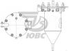 Резервуар вертикальный РВ-0,02-1.0.К.0.0.0 ПС