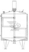 Резервуар вертикальный РВ -2,5-2Т.К.3.3.Р