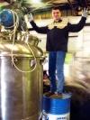 Вакуумный реактор для производства медицинского геля